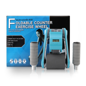 Thai Sports Foldable Counter Exercise Wheel