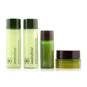 Innisfree Green Tea Special Kit (4 Items)