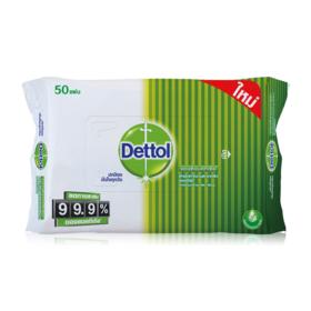 Dettol Antibacterial Wet Wipe 50 Sheets