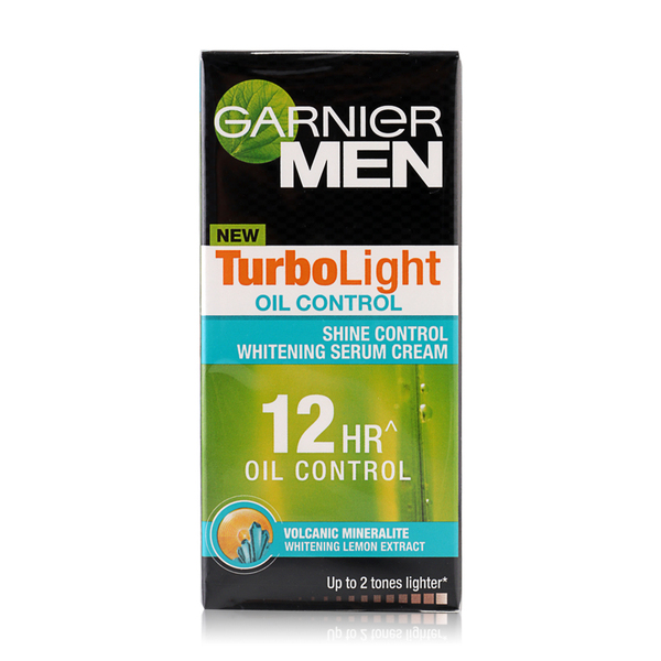 Garnier+Men+Turbolight+Oil+Control+Moist+Pump+40ml
