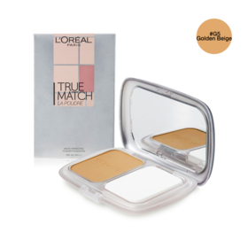 LOreal Paris True Match Micro-Perfecting Powder Foundation SPF36/PA+++ 9g #G5 Golden Beige