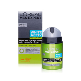 LOreal Paris Men Expert White Activ Bright + Oil Control Moisturiser 50ml
