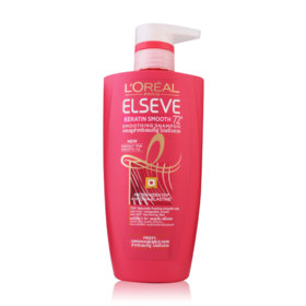 LOreal Paris Elseve Keratin Smooth Shampoo 450ml
