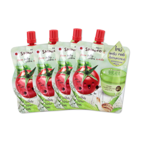 Smooto Japan Tomato Aloe Snail Jelly Scrub (50ml x 4pcs)