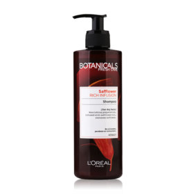 LOreal Paris Botanicals Fresh Care Safflower Rich Infusion Shampoo 400ml