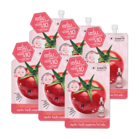 Smooto Japan Tomato Collagen White Serum (10g x 6pcs)