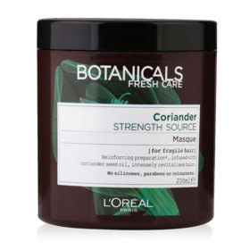LOreal Paris Botanicals Fresh Care Coriander Strength Source Masque 200ml