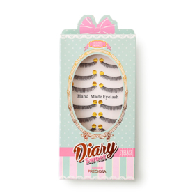 Preciosa Eyelash Exclusive Diary Sweet Pack 10pairs #826
