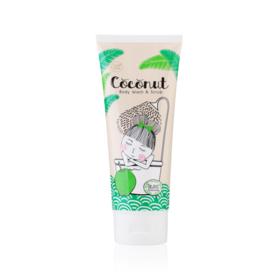 To Be Kind Coconut Body Wash & Scrub 200ml