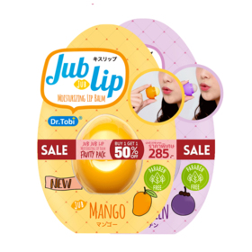 แพ็คคู่ Jub Jub Lip Fruity Pack Set 2 Items (Mango + Mangosteen)