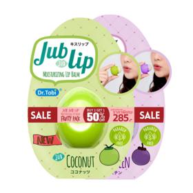 แพ็คคู่ Jub Jub Lip Fruity Pack Set 2 Items (Coconut + Mangosteen)