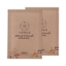 แพ็คคู่ Venus Whitening & Moisturizing Facial Mask (25ml x 2pcs)