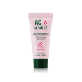 Etude House AC+ Clean Up Pink Powder Mask 20ml