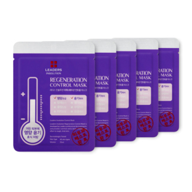 Leaders Insolution Regeneration Control Mask 25ml Set 5 Sheets