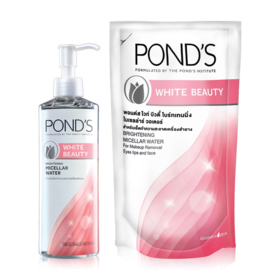Ponds White Beauty Set 2 Items (Cleansing Micellar 235ml + Refilled 200ml)