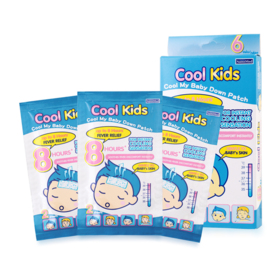 Nanomed Cool Kids Cool My Baby Down Patch (6 sheets/box)