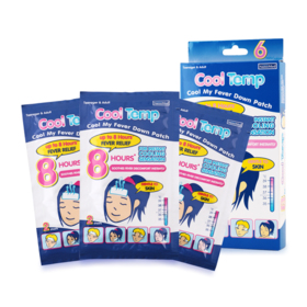 Nanomed Cool Temp Cool My Baby Down Patch (6 sheets/box)