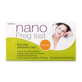 Nanomed Nano Preg test Cassette (1 piece)
