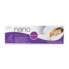 Nanomed Nano Preg test Mid Stream (1 piece)