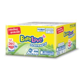 BabyLove Play Pants Nanopower Plus Super Save Box Pack (208pcs) #XL