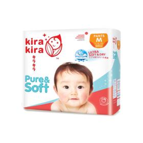 Kira Kira Pure & Soft Baby Pant Diaper 54pcs #M