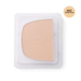 LOreal Paris True Match Even Perfecting Powder Foundation SPF32/PA+++ 8g #N2 Nude Ivory (Refill)