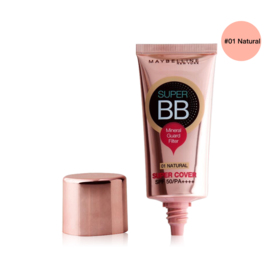 Maybelline Super Cover BB Cream SPF50 PA++++ 30ml #01 Natural