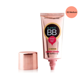 Maybelline Super Cover BB Cream SPF50 PA++++ 30ml #02 Medium
