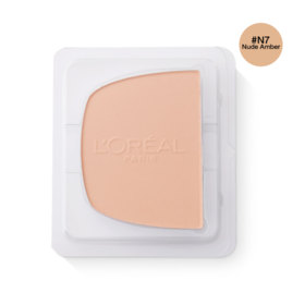 LOreal Paris True Match Even Perfecting Powder Foundation SPF32/PA+++ 8g #N7 Nude Amber (Refill)