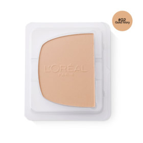 LOreal Paris True Match Even Perfecting Powder Foundation SPF32/PA+++ 8g #G2 Gold Ivory (Refill)