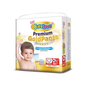 BabyLove Premium Gold Pants Perfection Protection 46pcs #XL