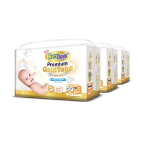 BabyLove Premium Gold Tape Perfection Protection 84pcs x 3packs (252pcs in box) #Newborn