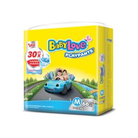 BabyLove Playpants Nanopower Plus Jumbo Size 66pcs #M