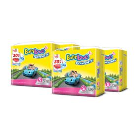 BabyLove Playpants Nanopower Plus Jumbo Size 74pcs x 4packs (296 in box) #S