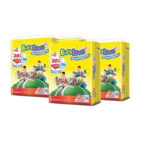 BabyLove Playpants Nanopower Plus Jumbo Size 48pcs x 4packs (192 in box) #XL