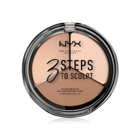 NYX Professional Makeup 3 Steps To Sculpt Face Sculpting Palette #Fair