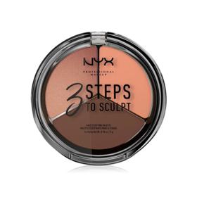 NYX Professional Makeup 3 Steps To Sculpt Face Sculpting Palette #Deep
