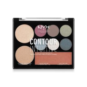 NYX Professional Makeup Contour Intuitive Palette #Plum Metals