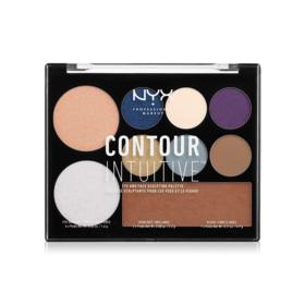 NYX Professional Makeup Contour Intuitive Palette #Jewel Queens
