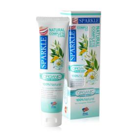 แพ็คคู่ Sparkle Natural Complete Care Toothpaste (100g x 2tube)