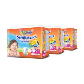 Babylove Smile Pants 76pcs x 3packs (228pcs in box) #S