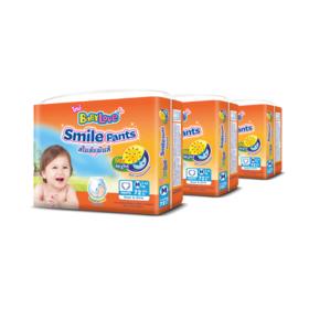 Babylove Smile Pants 72pcs x 3packs (216pcs in box) #M