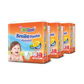 Babylove Smile Pants 52pcs x 3packs (156pcs in box) #XL