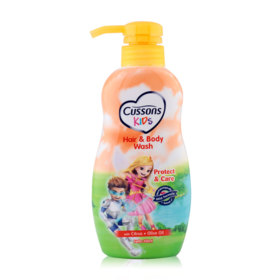 Cussons Kids Hair&Body Wash Protect&Care 350ml #Citrus+Olive Oil
