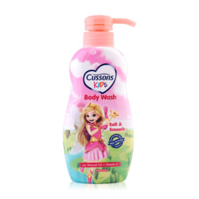 Cussons Kids Body Wash Soft&Smooth 350ml #Almond Oil+Vitamin E