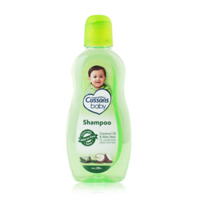 Cussons Baby Shampoo 200ml #Coconut Oil & Aloe Vera