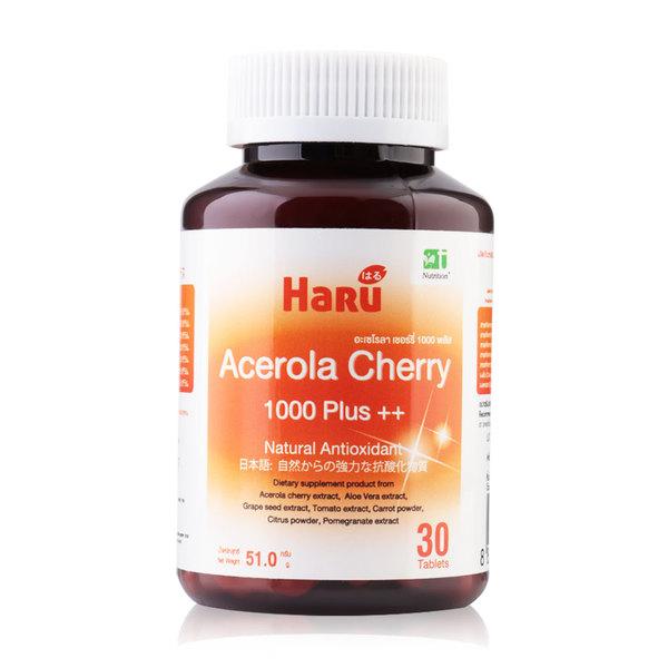 Haru+Acerola+Cherry+1000+Plus%2B%2B+30Caps