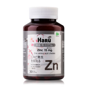 Haru Zinc 15mg 30Caps