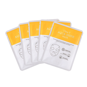 Ultra V Aqua Shine Mask 5pcs