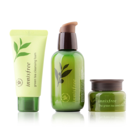 Innisfree The Green Tea Seed Serum Special Care Set 3 Items